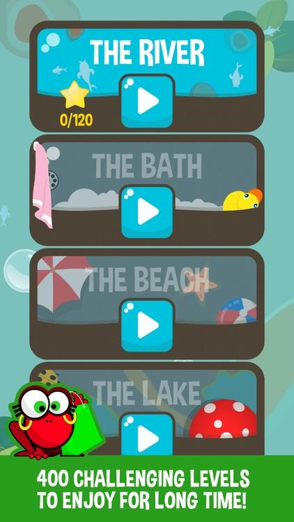 Pop Frogs: Match-3 puzzle screenshot-3