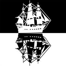 Old Wooden Ship and Pirate Vessels Stickers