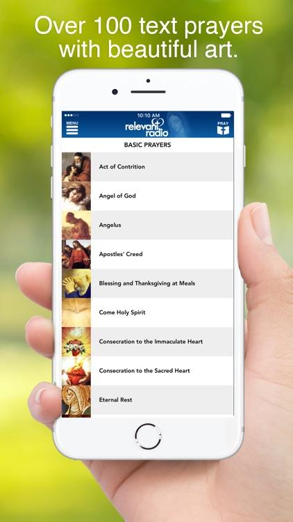 Relevant Radio - #1 Catholic Radio App screenshot-4