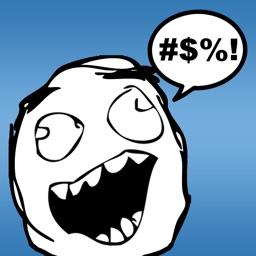 Video Rage Faces - Make Funny Memes & Rage Comics