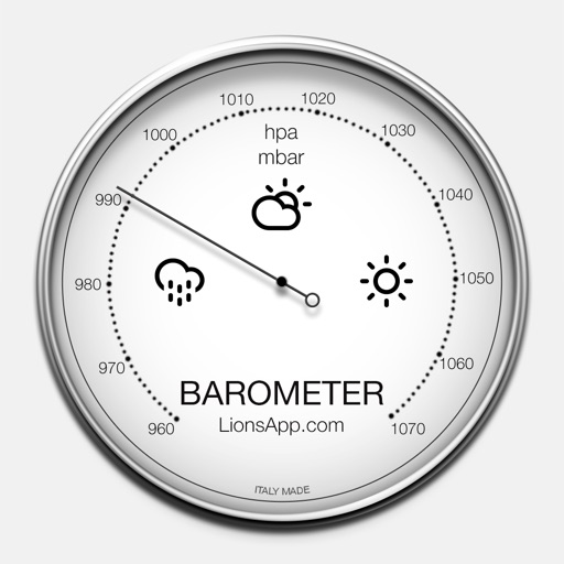 Barometer - Atmospheric pressure