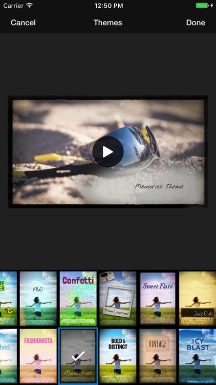 WeVideo – Video Editor, Green Screen, Music & FX screenshot-3