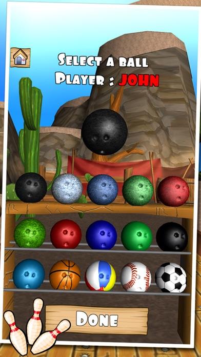 Bowling Western screenshot one