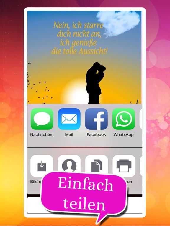 Flirtsprüche - Coole Sprüche: Flirten Spruchbilder screenshot 9