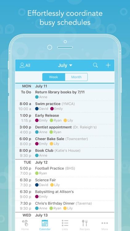 Cozi - Shared calendar & lists