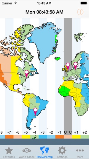 World clocktime zones on the app store gumiabroncs