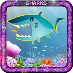 Sharks and friends Match 3 puzzle game
