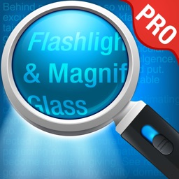 Magnifying Glass Pro - (Magnifier + Torch)