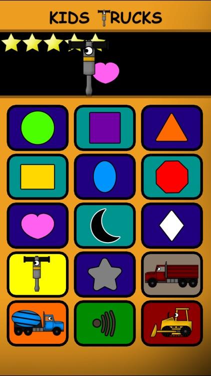 Kids Trucks: Preschool Learning Education Edition screenshot-4