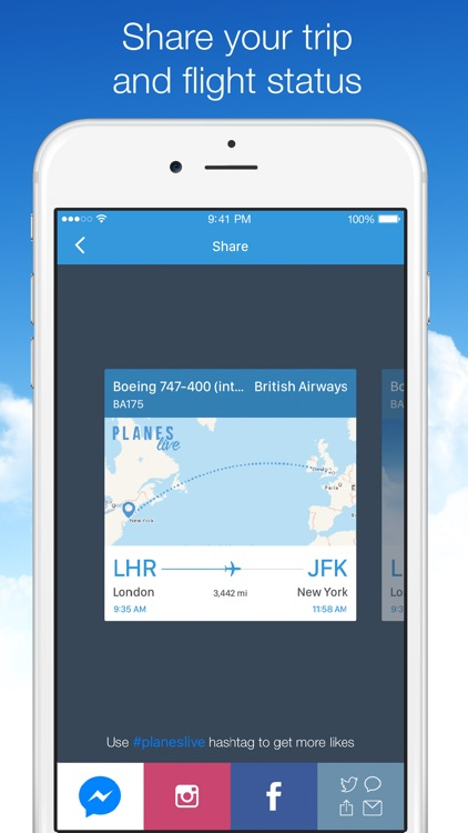 Planes Live - Flight Status Tracker and Radar screenshot-3