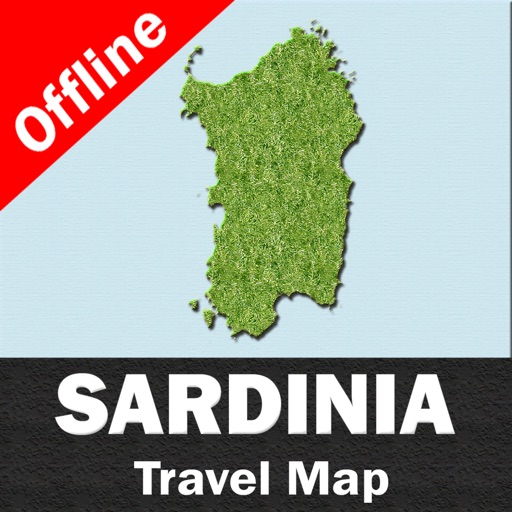 SARDINIA – GPS Travel Map Offline Navigator