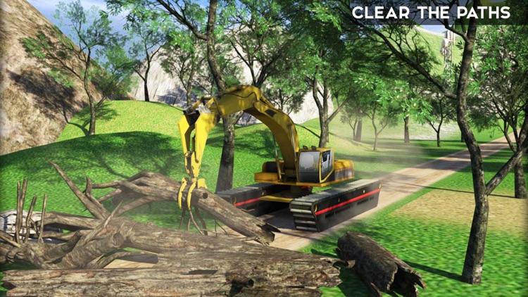 Excavator Crane Simulator & Dump Truck Driver: PRO screenshot-3