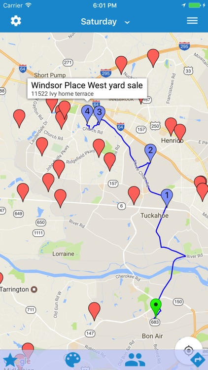 Yard Sale Treasure Map app image