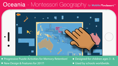 Oceania - Montessori Geography for Preschool & Up screenshot 1