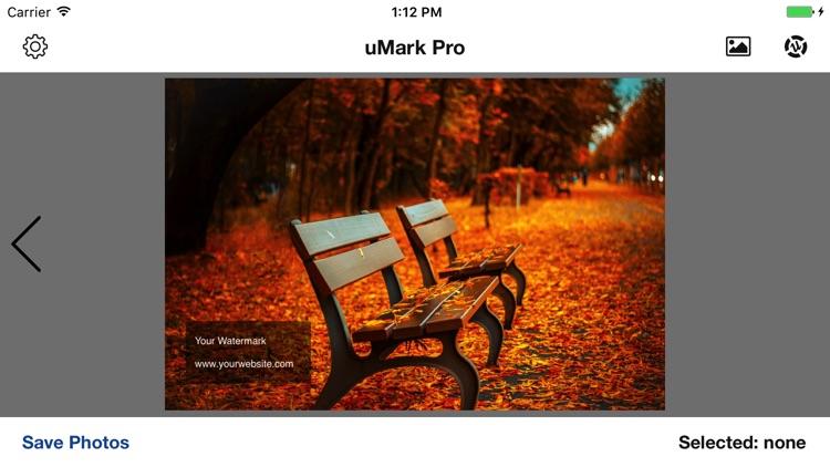 uMark Photo Watermarker Pro