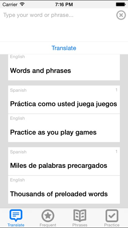 English to Spanish Translator + screenshot-0