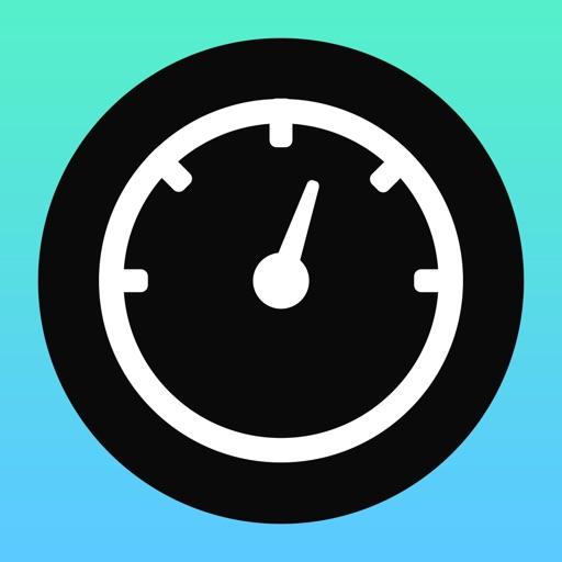Flat Speedometer