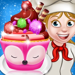 Cupcake Game: Cupcake Maker Cooking Games for Kids