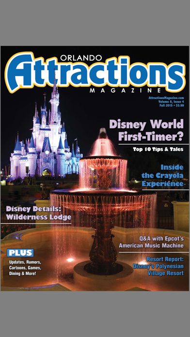 Attractions Magazine review screenshots
