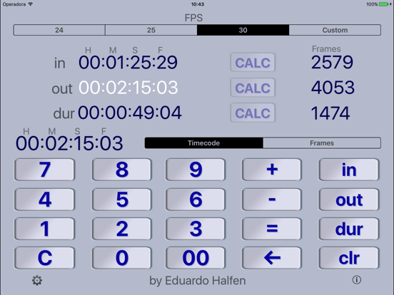 Simple Timecode Screenshots