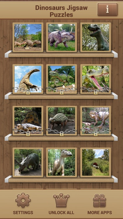 Dinosaurs Jigsaw Puzzles - Fun Games screenshot-1