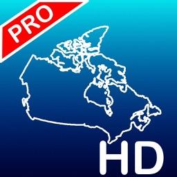 Aqua Map: Canada - GPS Nautical Charts | HD