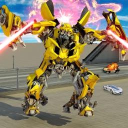 Super Robot War Machine: Laser Shooting Games
