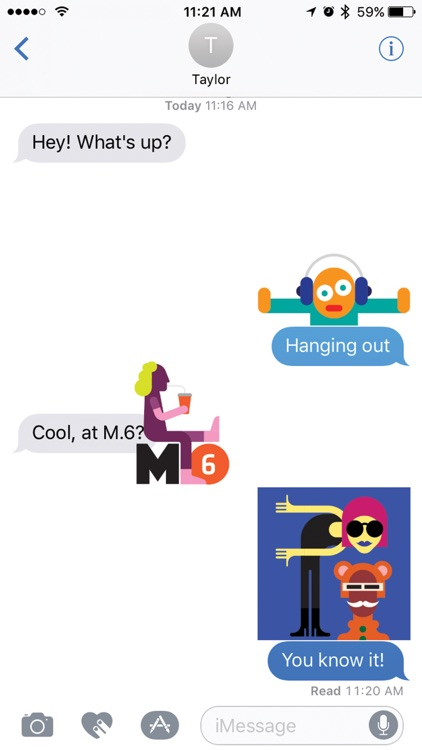 M.6 Sticker Pack