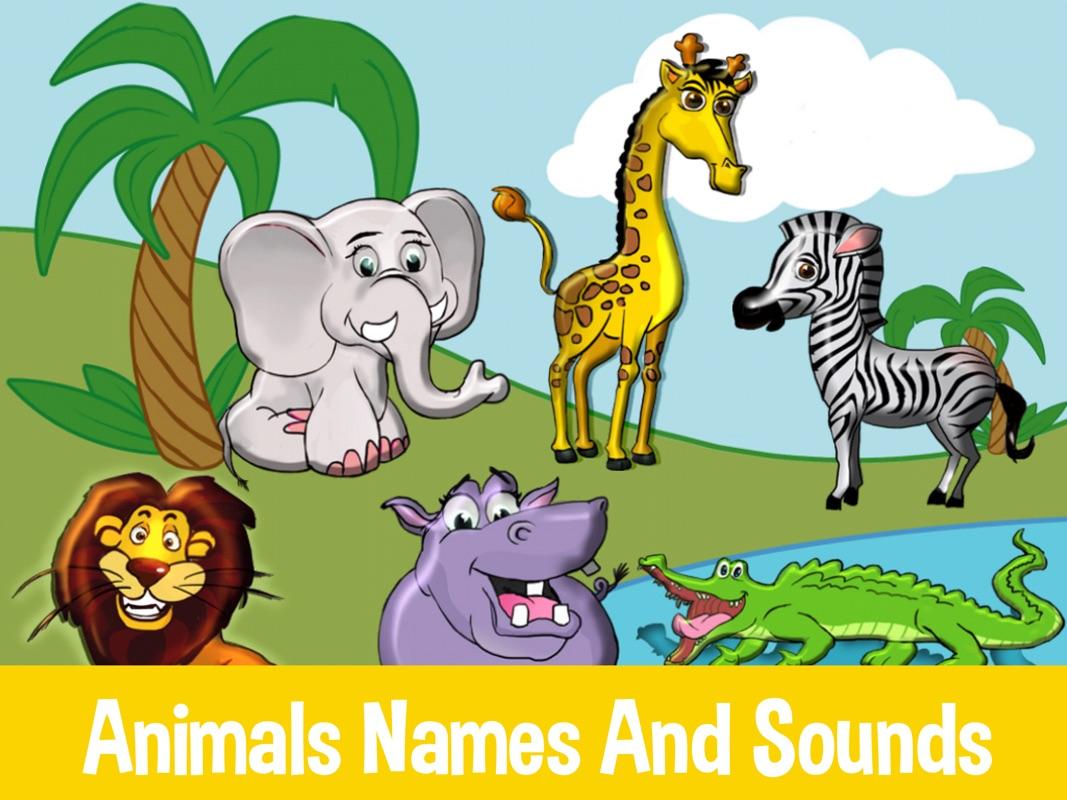 Kids shape puzzle animals alphabet & colors - Online Game