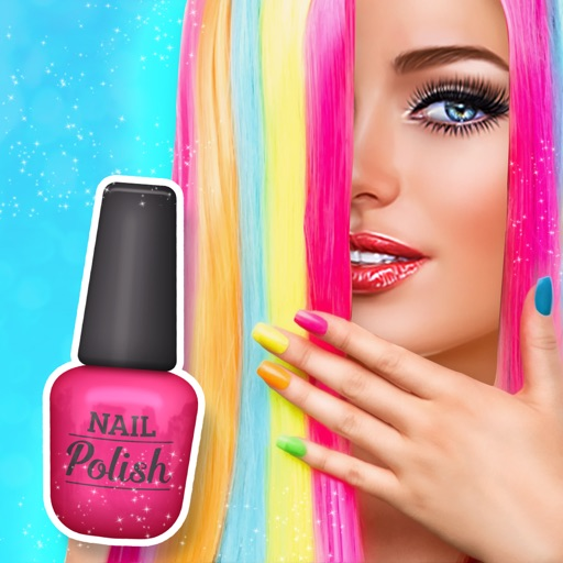 Rainbow Nail Arts For Girls App Data Review Games Apps Rankings