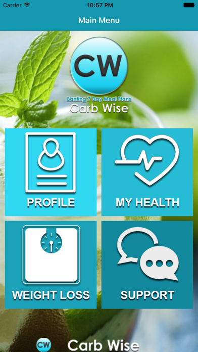 Screenshot for Carb Wise in Kazakhstan App Store