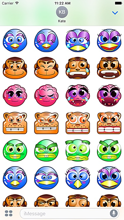 Bumperoid: Stickers for iMessage screenshot-3