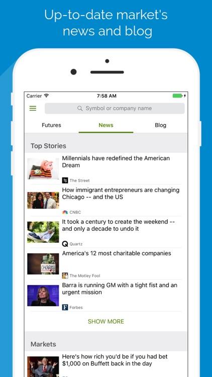 Technology Stock Screener - FB, GOOGL, BABA screenshot-3