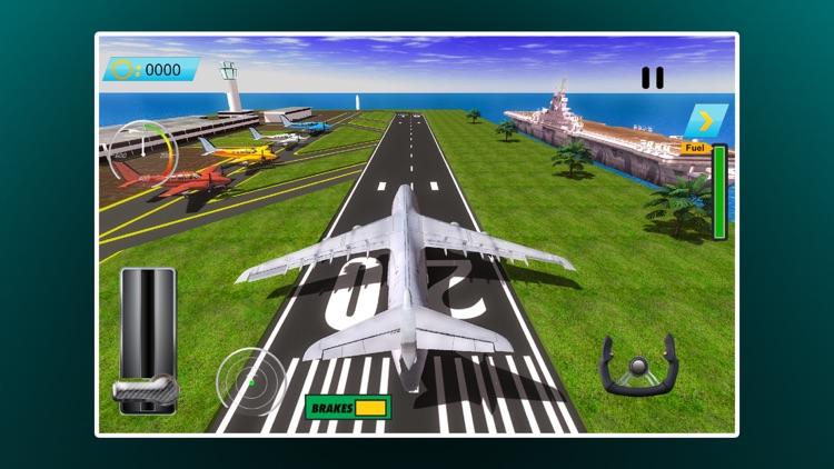 Airplane Flight Simulator-Aviation Pilot Adventure screenshot-3