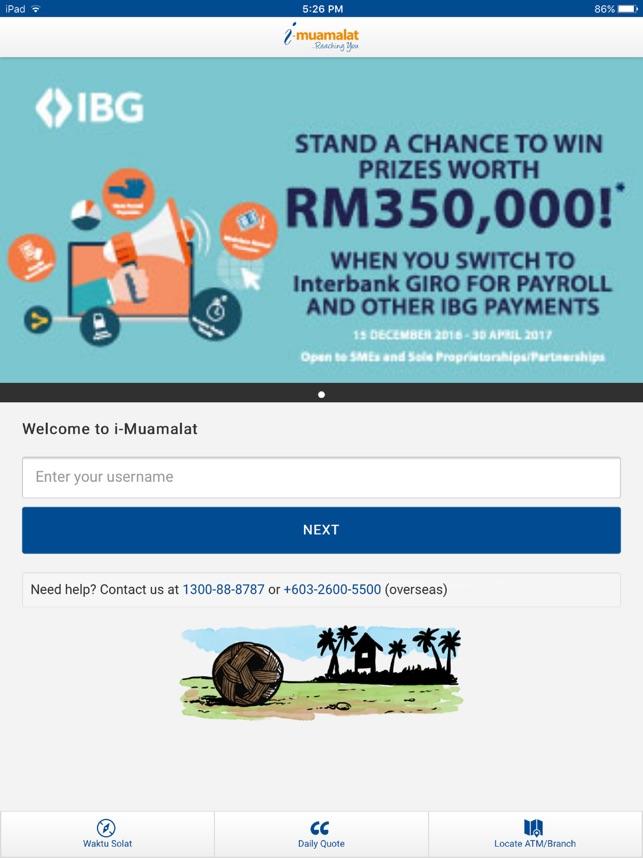 Bank muamalat malaysia berhad online dating