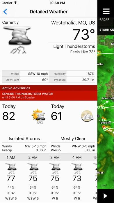NOAA Storm Center screenshot1