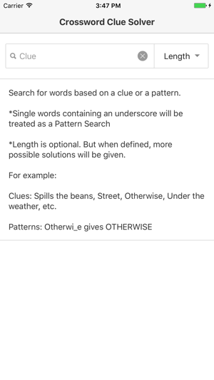 Crossword clue solver on the app store screenshots ccuart Image collections