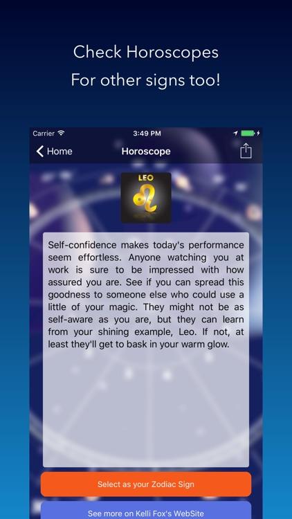 Daily Zodiac Horoscope and Weather Notifications screenshot-3