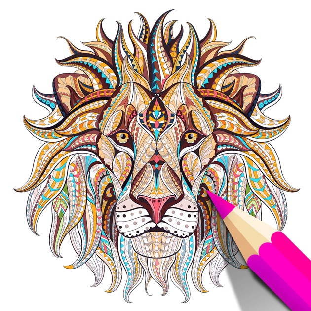 Coloring Book for Adults - Color Therapy Pages on the App Store