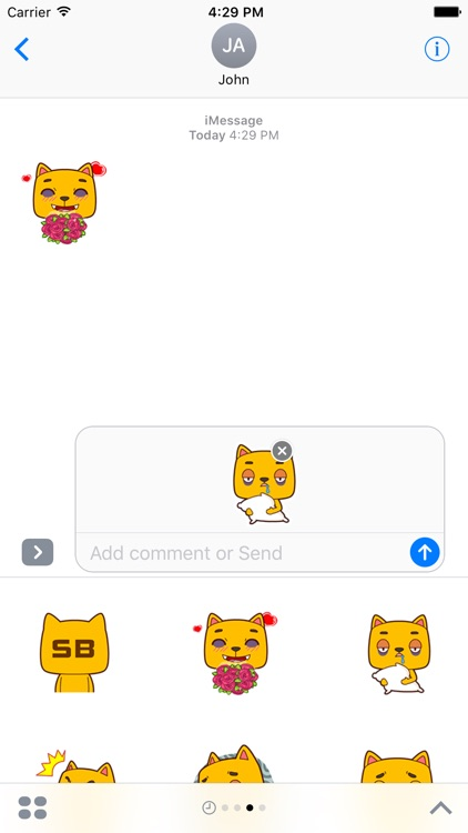 Ugly Cat Animated Stickers