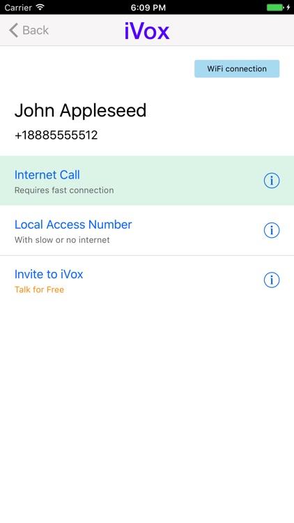 iVox Cheap International Calling App