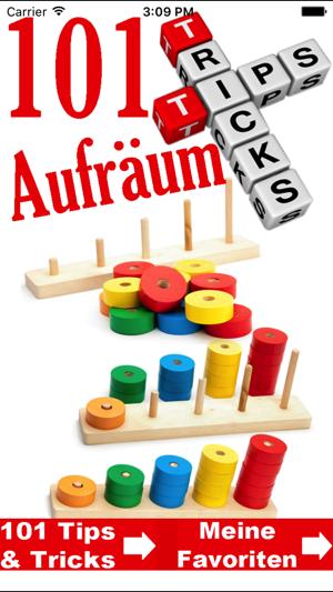 Aufräumen - Ordnung Tipps & Tricks on the App Store
