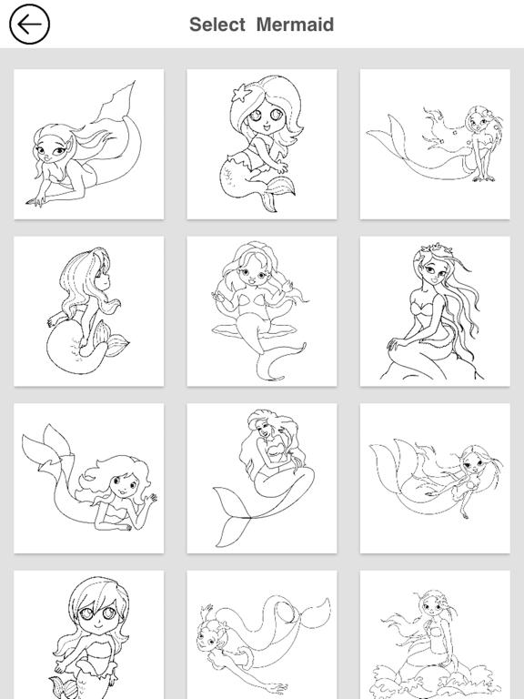 Mermaid Coloring screenshot 6