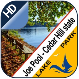 Joe Pool - Cedar Hill offline lake and park trails