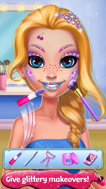 Glitter Makeup - Sparkle Salon Game for Girls