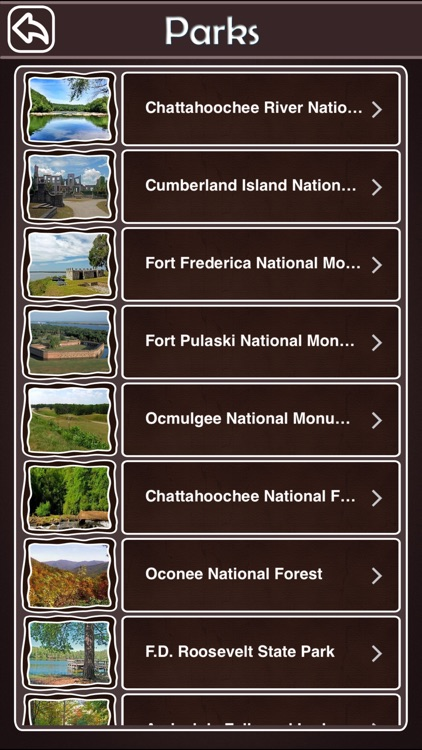 Georgia National & State Parks screenshot-2