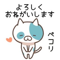 ねこほいステッカー - カワイイ猫たち