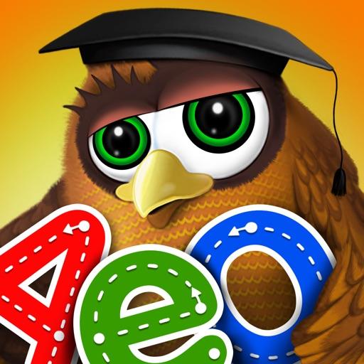 Kindergarten math & reading learning kids games app logo