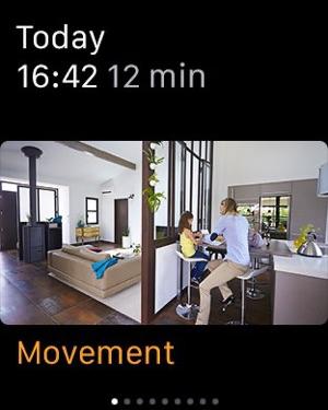 Nokia Home Security Camera Screenshot