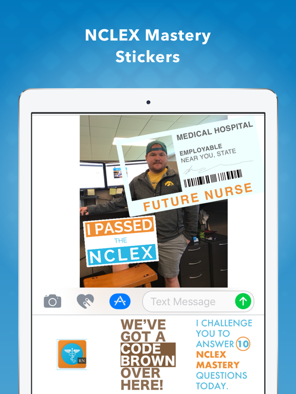 NCLEX Mastery Stickers screenshot 4